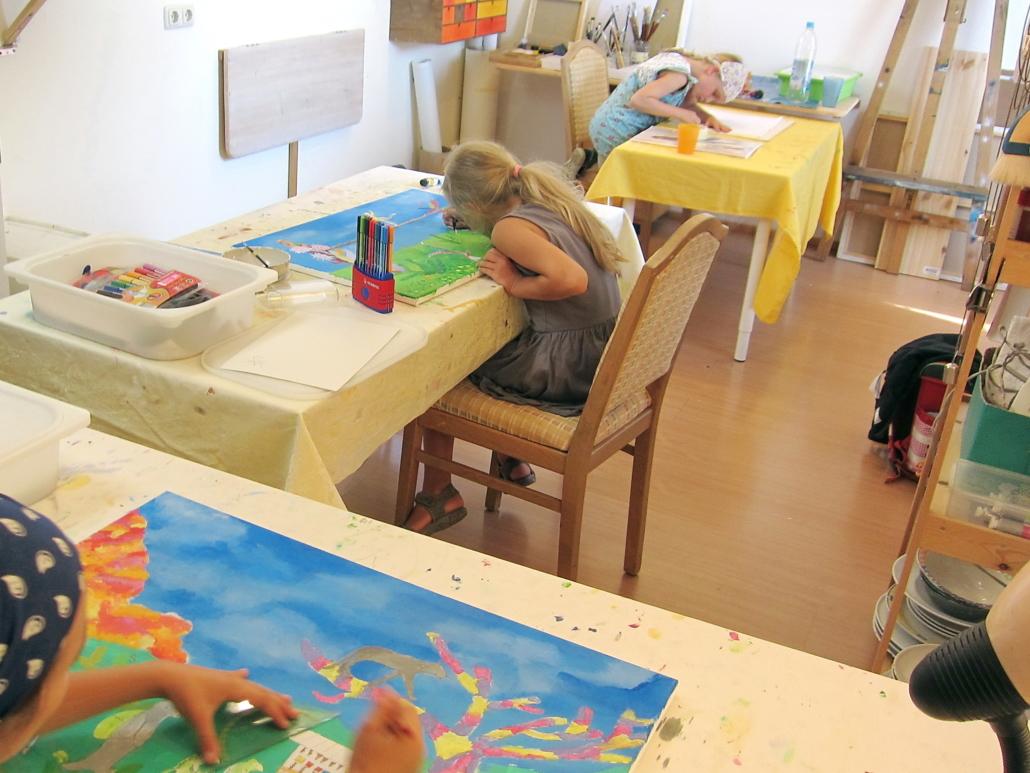 Kreativkurs für Kinder