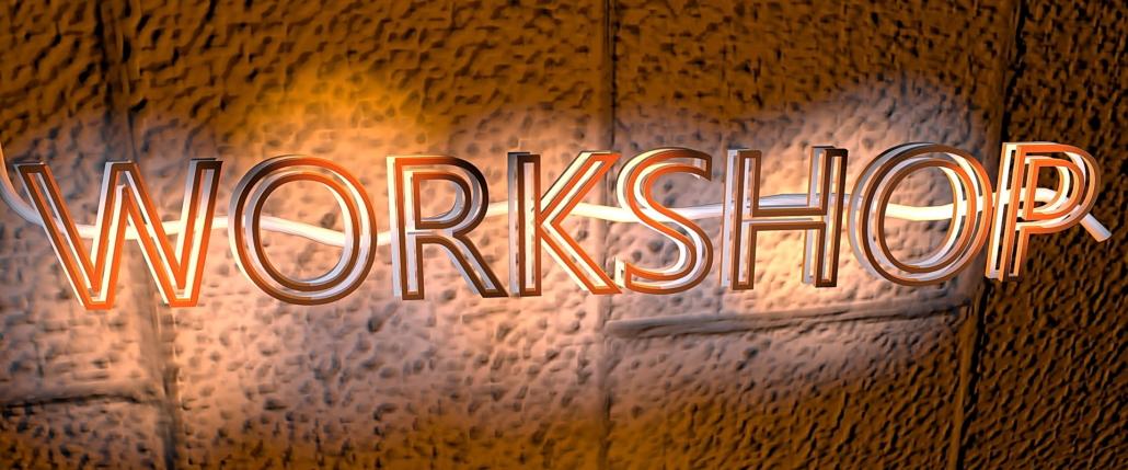 Workshops zur Mappenvorbereitung
